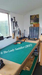 Image of the Lady Saddler workshop